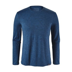 M's Capilene® Daily Long-Sleeved T-Shirt, Viking Blue - Navy Blue X-Dye (VKNX)