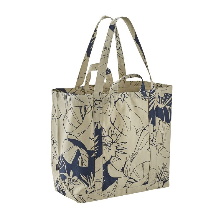 ALL DAY TOTE, Valley Flora Big: Bleached Stone (VFBS)