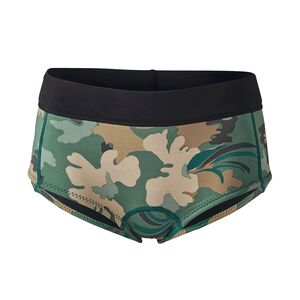 W's R1® Lite Yulex™ Surf Shorts, Cloudbreak Small: Hemlock Green (CDHG)