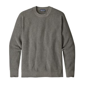M's Long-Sleeved Yewcrag Crew, Hex Grey (HEXG)