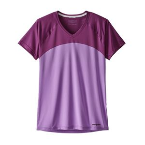 W's Short-Sleeved Windchaser Shirt, Light Acai (LIH)