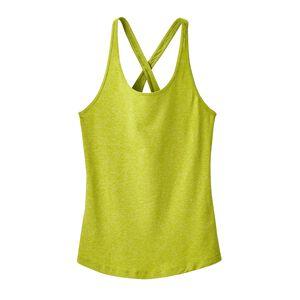 W's Fleur Tank Top, Celery Green (CELG)