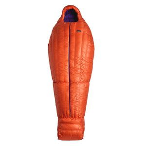 850 Down Sleeping Bag 19 F/-7 C - Short, Campfire Orange (CMPO)