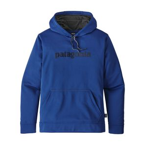 M's Text Logo PolyCycle™ Hoody, Superior Blue (SPRB)