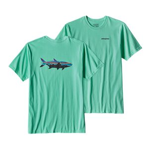 メンズ・フィッツロイ・ターポン・コットン・Tシャツ, Galah Green (GLHG)