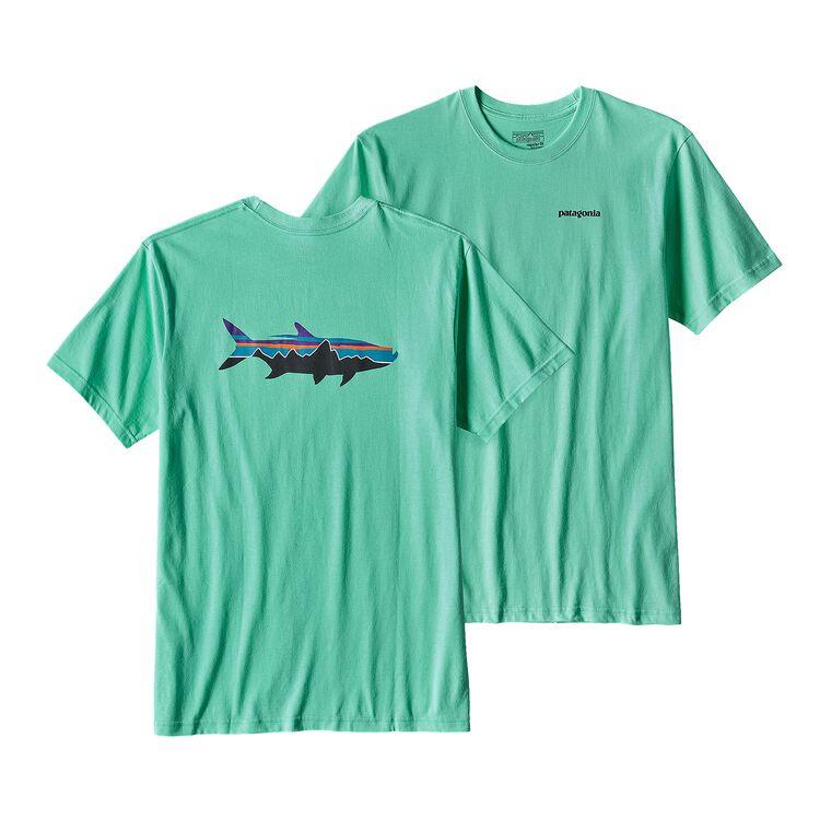 メンズ・フィッツロイ・ターポン・オーガニックコットン・Tシャツ, Galah Green (GLHG)
