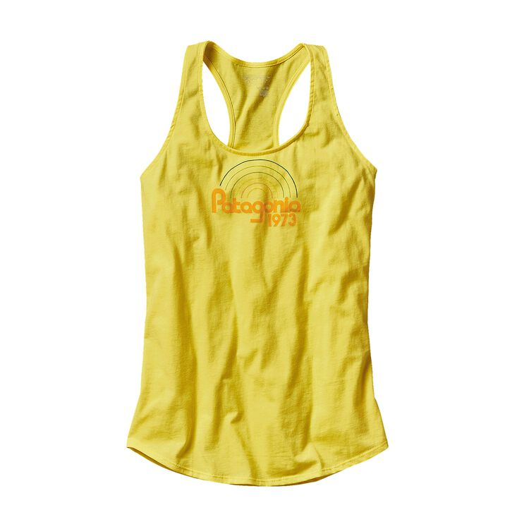 W'S PATAGONIA GROOVES COTTON TANK TOP, Blazing Yellow (BLZY)