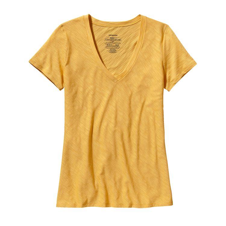 ウィメンズ・ネセシティ・Vネック, Nectar Yellow (NCTY)