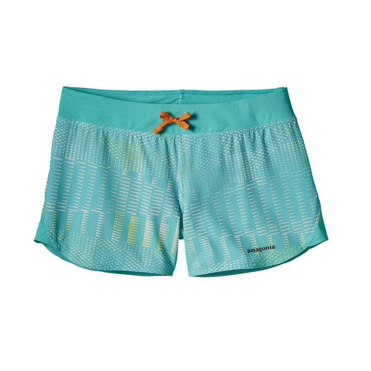 W'S NINE TRAILS SHORTS, Shadow Pop: Howling Turquoise (SHWQ)
