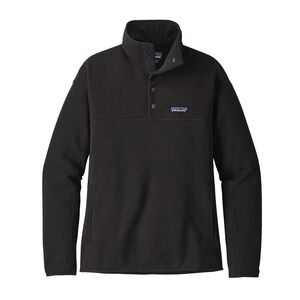 W'S LW BETTER SWEATER MARSUPIAL P/O, Black (BLK)