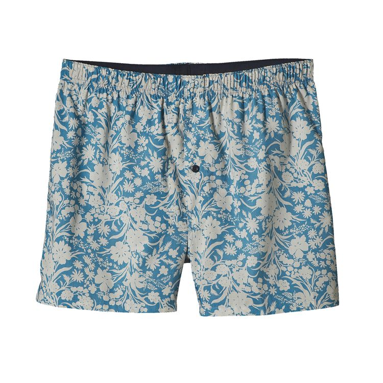 M'S GO-TO BOXERS, Free Lei: Catalyst Blue/Birch White (FCYW)