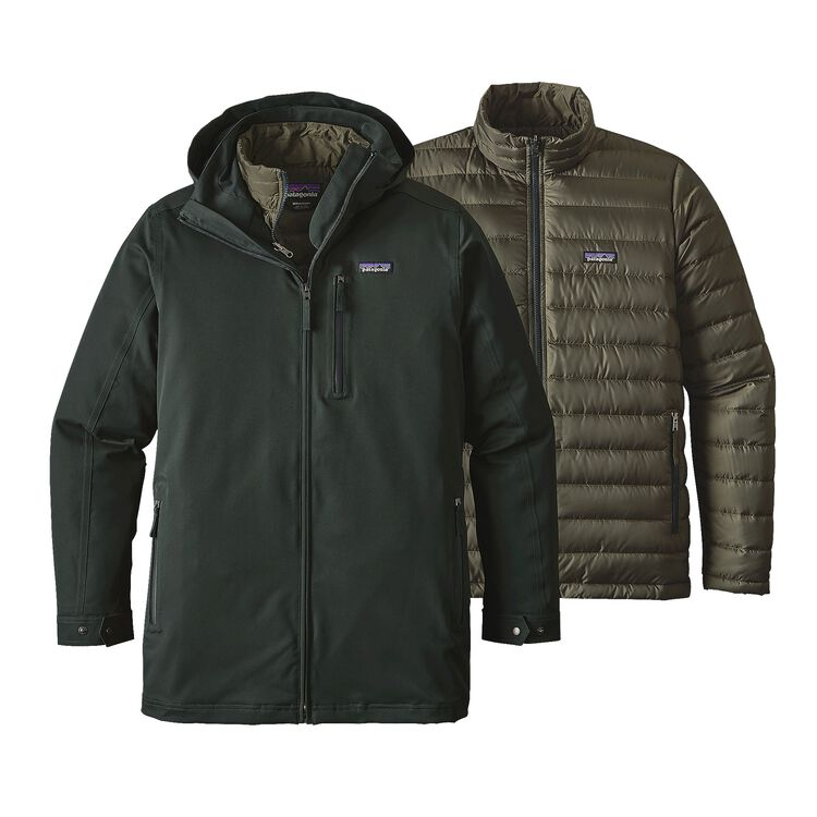 M'S TRES 3-IN-1 PARKA, Carbon (CAN)