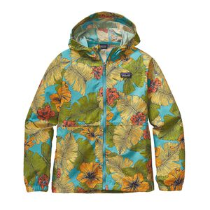 K'S BAGGIES JKT, Best Fronds: Howling Turquoise (BHTQ)