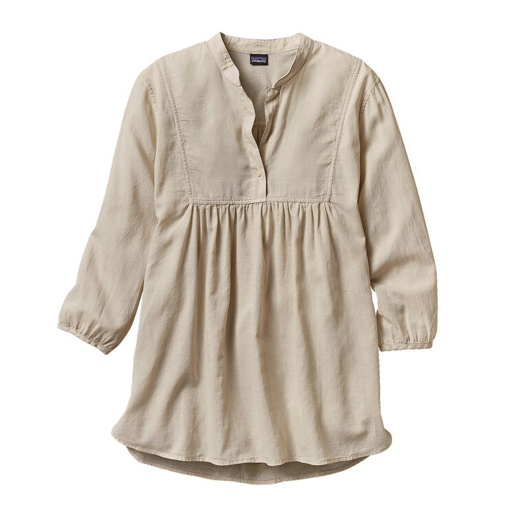 W'S LW A/C TUNIC, Bleached Stone (BLST)