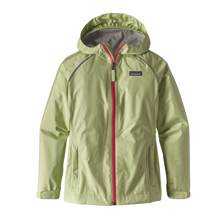 GIRLS' TORRENTSHELL JKT, Gill Green (GLGN)