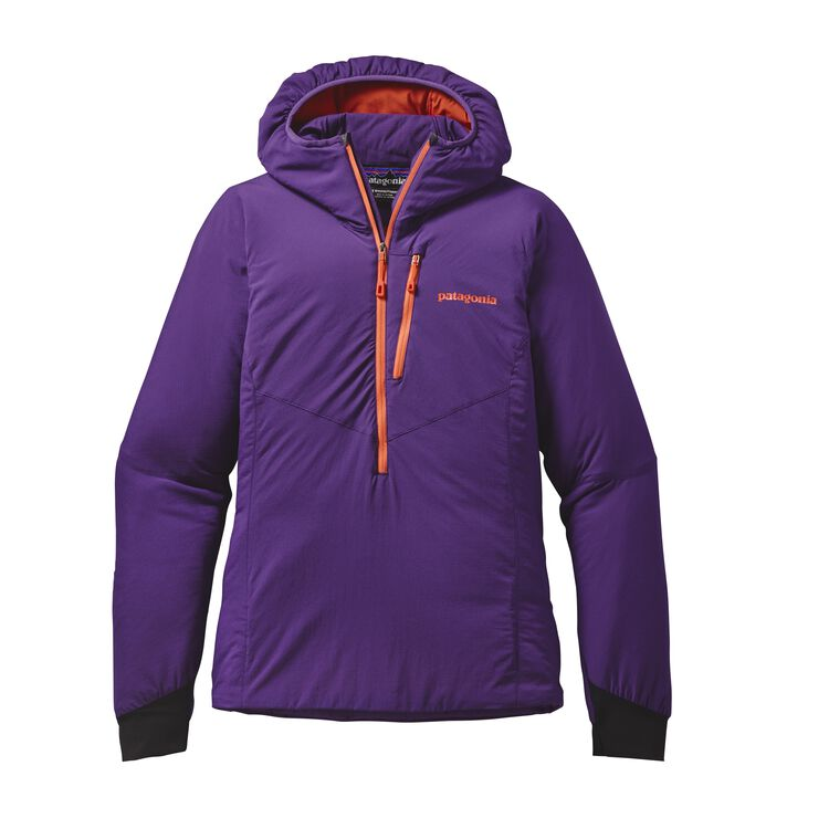 W'S NANO-AIR LIGHT HOODY, Purple (PUR)