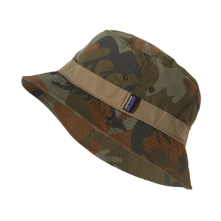 WAVEFARER BUCKET HAT, Forest Camo: Hickory (FCMH)