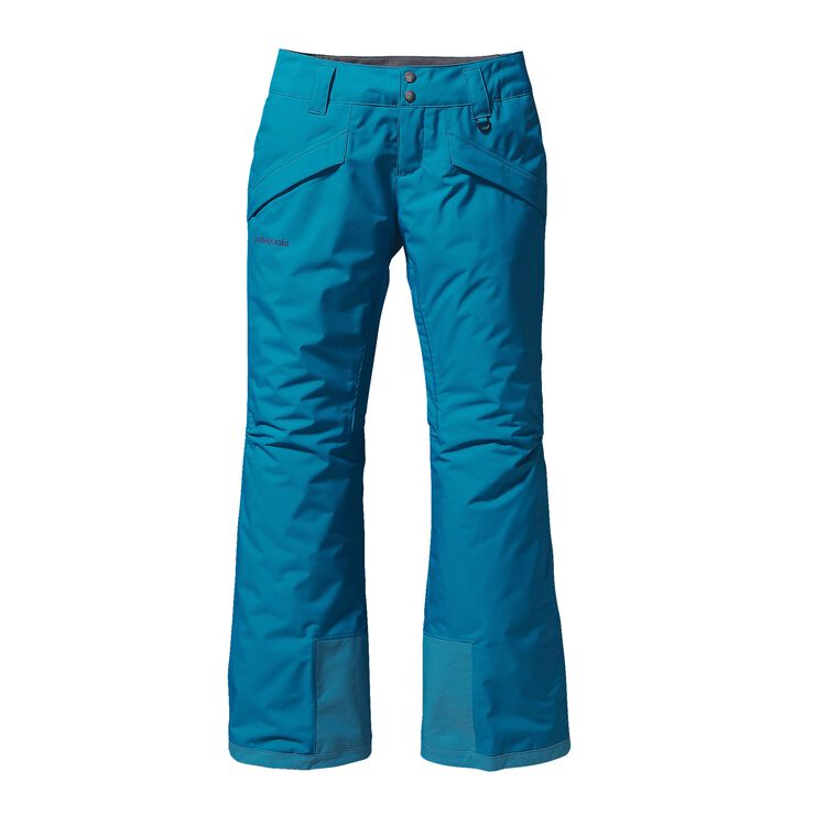 W'S INSULATED SNOWBELLE PANTS - REG, Underwater Blue (UWTB)