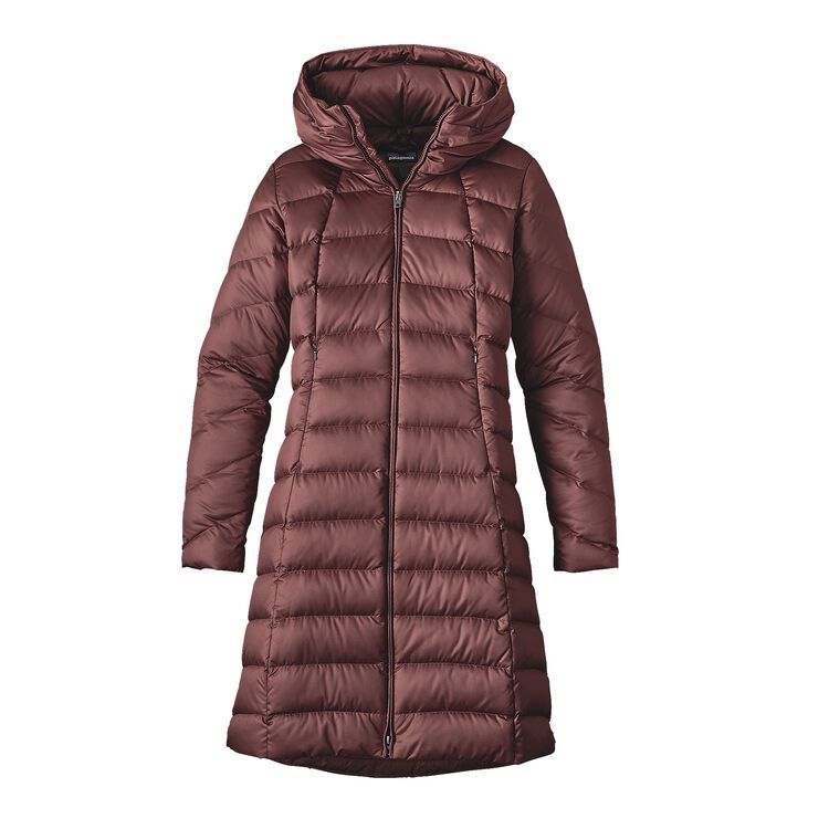 W'S DOWNTOWN PARKA, Dark Ruby (DAK)