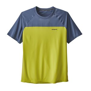 M's Short-Sleeved Windchaser Shirt, Light Gecko Green (LEK)
