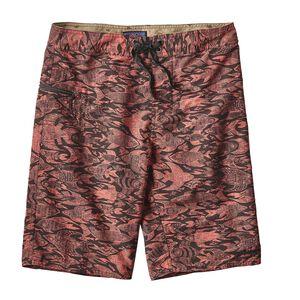 """M's Wavefarer™ Board Shorts - 21"""", Sketchy Fish: Spiced Coral (SKSC)"""