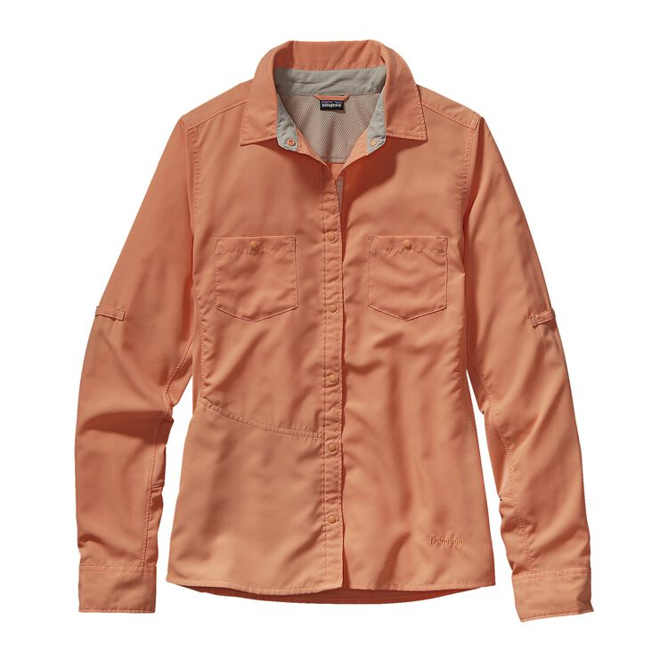 W'S L/S SOL PATROL SHIRT, Lite Cusco Orange (LCSO)