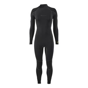 W's R3™ Yulex™ Back-Zip Full Suit, Black (BLK)