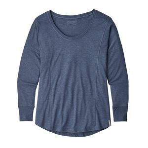 W's Long-Sleeved Blythewood Top, Dolomite Blue (DLMB)