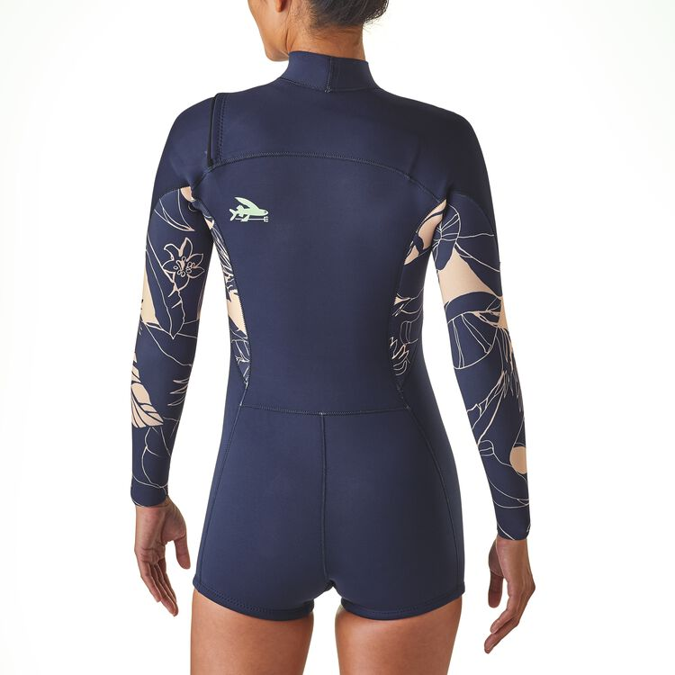 W's R1® Lite Yulex™ Front-Zip Long-Sleeved Spring Suit,