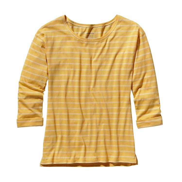 ウィメンズ・シャロウ・シーズ・トップ, Bonita Stripe: Nectar Yellow (BNCT)
