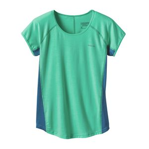 Girls' Pursuit of Phun Tee, Galah Green (GLHG)
