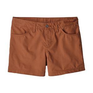 """W's Granite Park Shorts - 4"""", Canyon Brown (CYNB)"""