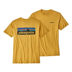 M's P-6 Logo Organic Cotton T-Shirt, Yurt Yellow (YRTY)
