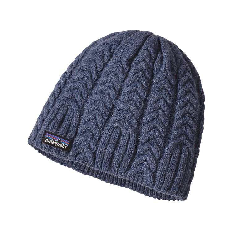 W'S CABLE BEANIE, Prussian Blue (PRB)