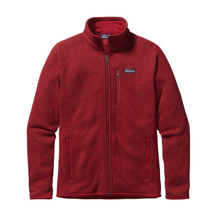M'S BETTER SWEATER JKT, Classic Red (CSRD)