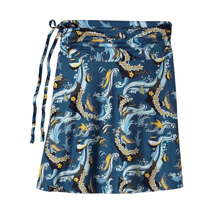ウィメンズ・リチア・スカート, Paradise Fish: Glass Blue (PRGS)