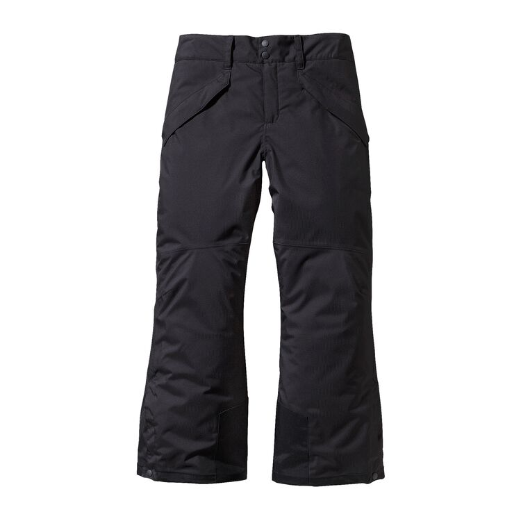 BOYS' INSULATED SNOWSHOT PANTS, Black (BLK)