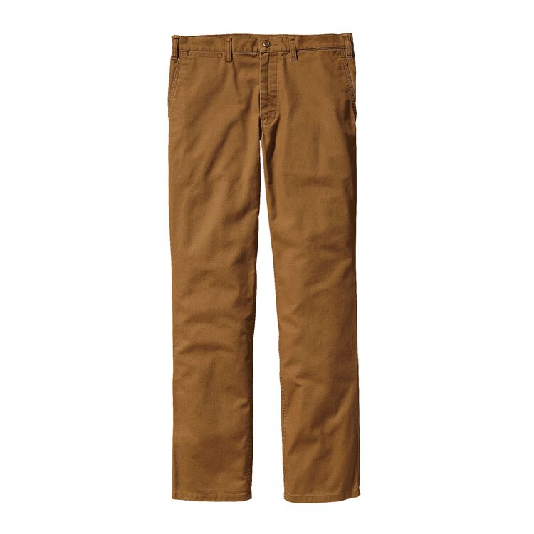 M'S STRAIGHT FIT DUCK PANTS - REG, Bear Brown (BRBN)