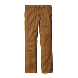 M'S STRAIGHT FIT DUCK PANTS - LONG, Bear Brown (BRBN)
