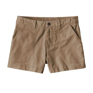 "W's Stand Up™ Shorts - 3"", Mojave Khaki (MJVK)"