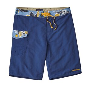"M's Patch Pocket Wavefarer® Boardshorts - 20"", Superior Blue (SPRB)"