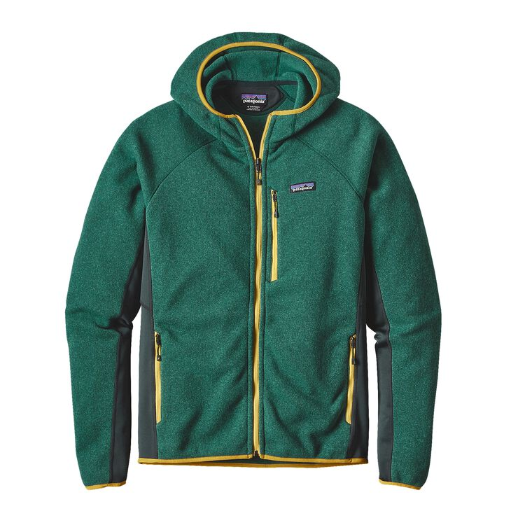 M'S PERFORMANCE BETTER SWEATER HOODY, Legend Green (LGDG)