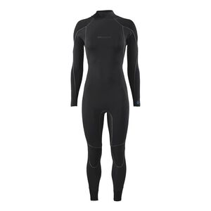 W's R1® Yulex™ Back-Zip Full Suit, Black (BLK)