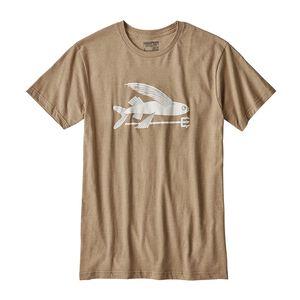 メンズ・フライング・フィッシュ・コットン/ポリ・Tシャツ, Mojave Khaki (MJVK)