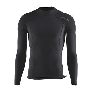 M's R1® Lite Yulex™ Long-Sleeved Top, Black (BLK)