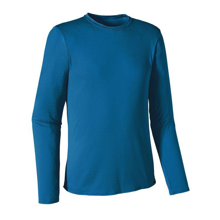M'S L/S CAP DAILY T-SHIRT, Bandana Blue (BBE)
