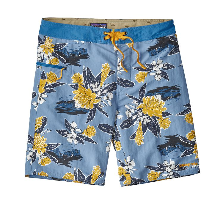 M'S WAVEFARER BOARDSHORTS - 19 IN., Cleanest Line: Railroad Blue (CLER)