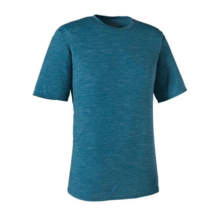 M'S MERINO DAILY T-SHIRT, Underwater Blue (UWTB)
