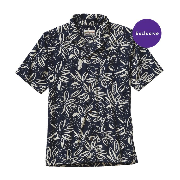M'S LIMITED EDITION PATALOHA SHIRT, Tropical: Navy Blue (TPNB)