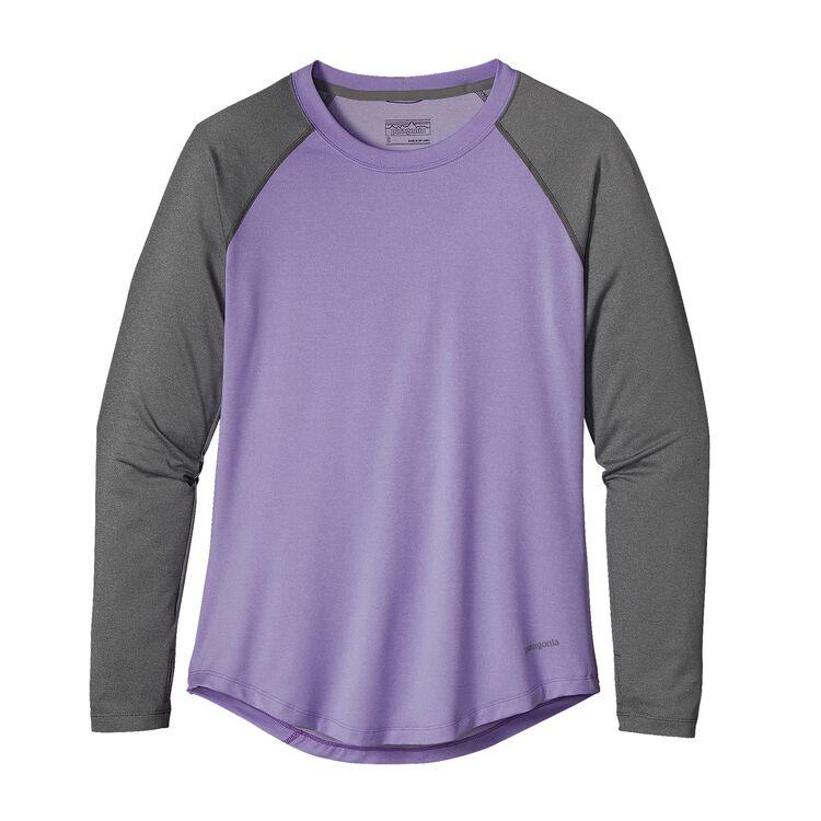 W'S TROPIC COMFORT CREW, Ploy Purple (PLYP)